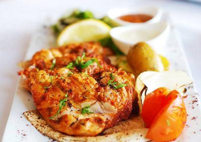 Baby Chicken Dish at Mazzat Weybridge Restaurant