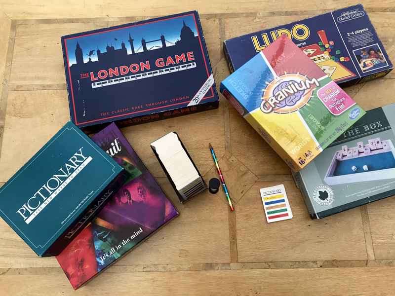 Board games sessions at the library - Weybridge Surrey