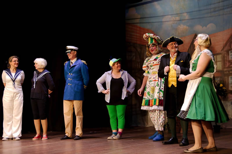 Dick Whittington Cast - Desborough Players Press Release Photo