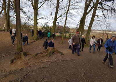 Esher Common Healthy Walkers on New Years Day