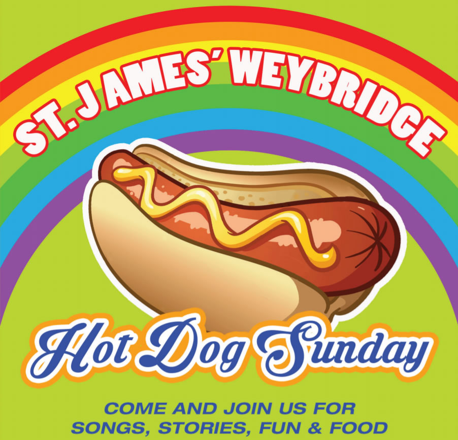 Hot Dog Sunday at St. James' Parish Church Weybridge