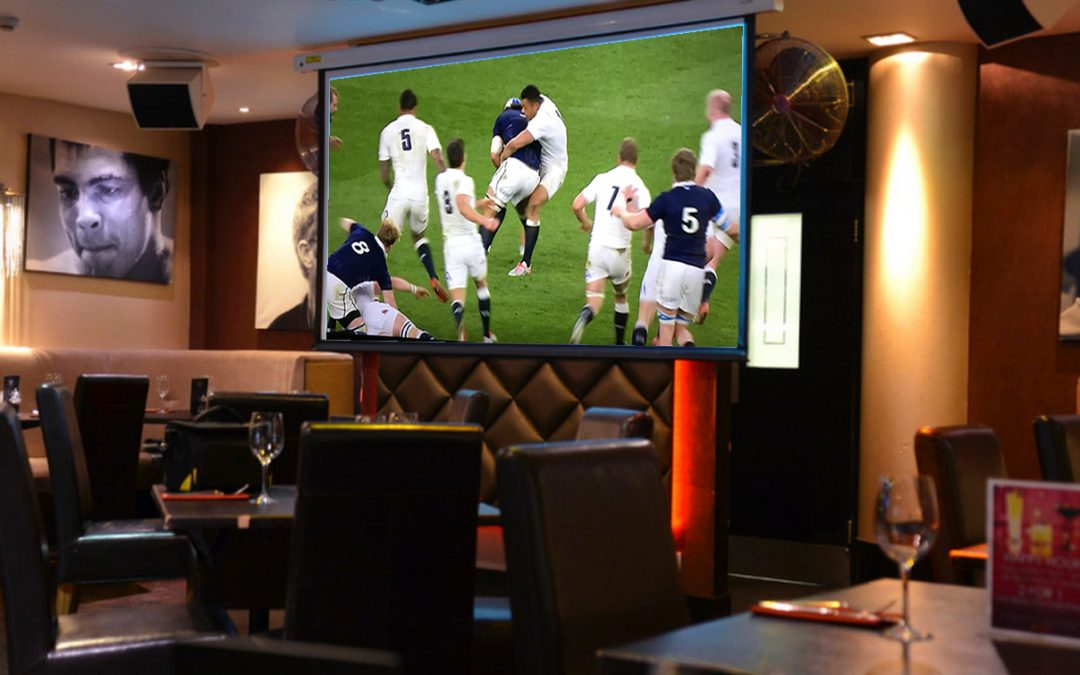 Six Nations Rugby – Live Matches On The Big Screen At Red Bar Weybridge Surrey