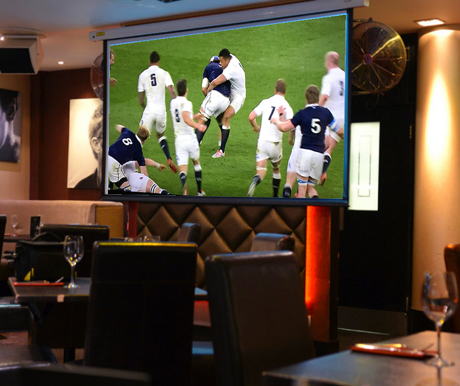 Six Nations Rugby - Live Matches On The Big Screen At Red Bar Weybridge Surrey