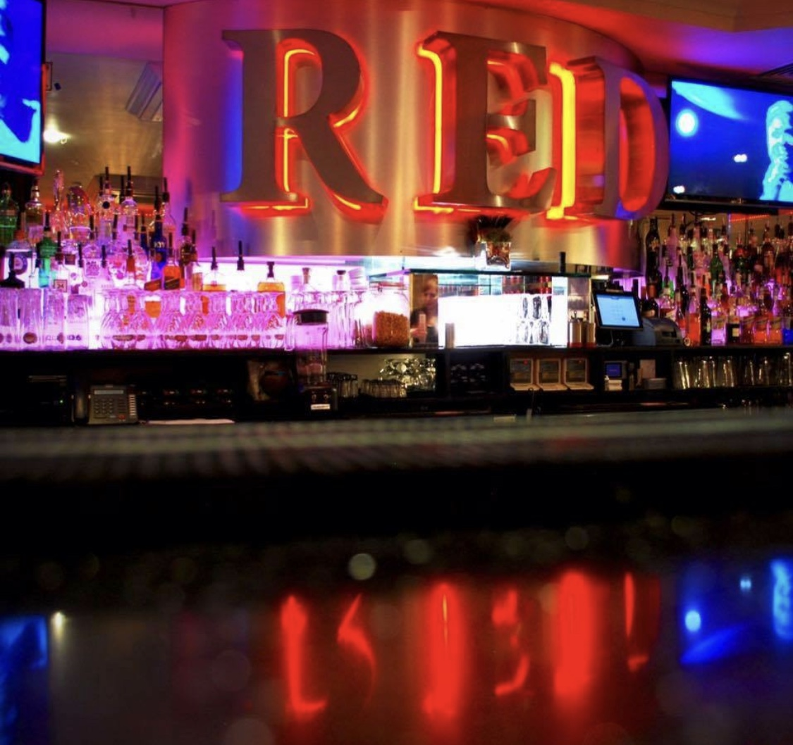 Great selection of cocktails and other drinks at Red Bar Queens Road Weybridge Surrey