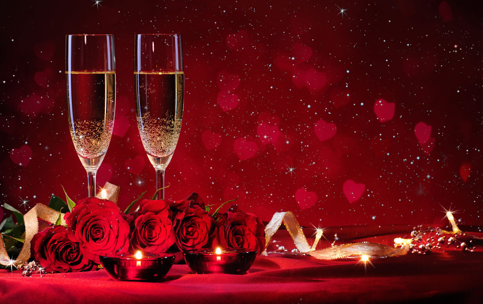 Valentines Weekend Party at Red Bar & Restaurant Weybridge Surrey