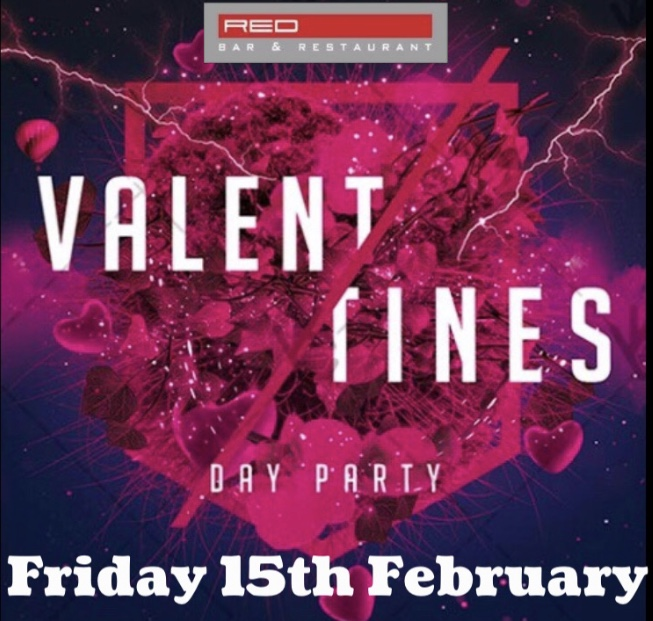 Valentines Day Party at Red Bar Weybridge Surrey