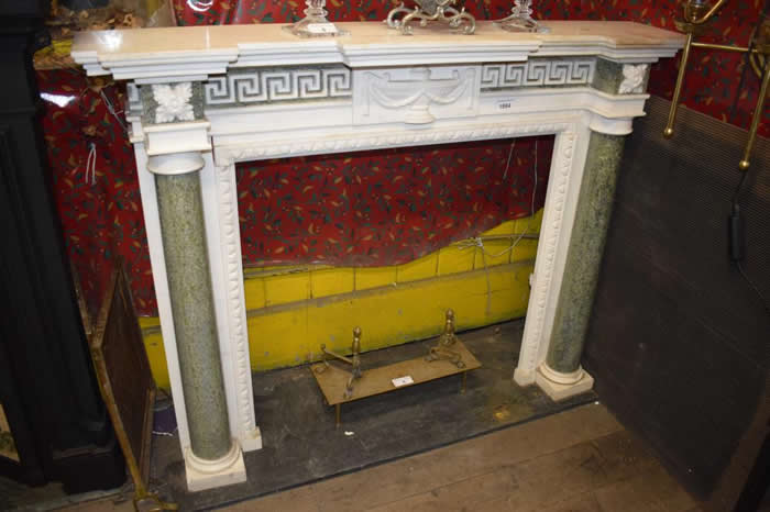 Fireplace at Guildford Surrey Auction
