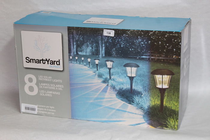 Garden lighting at Guildford Surrey Auction