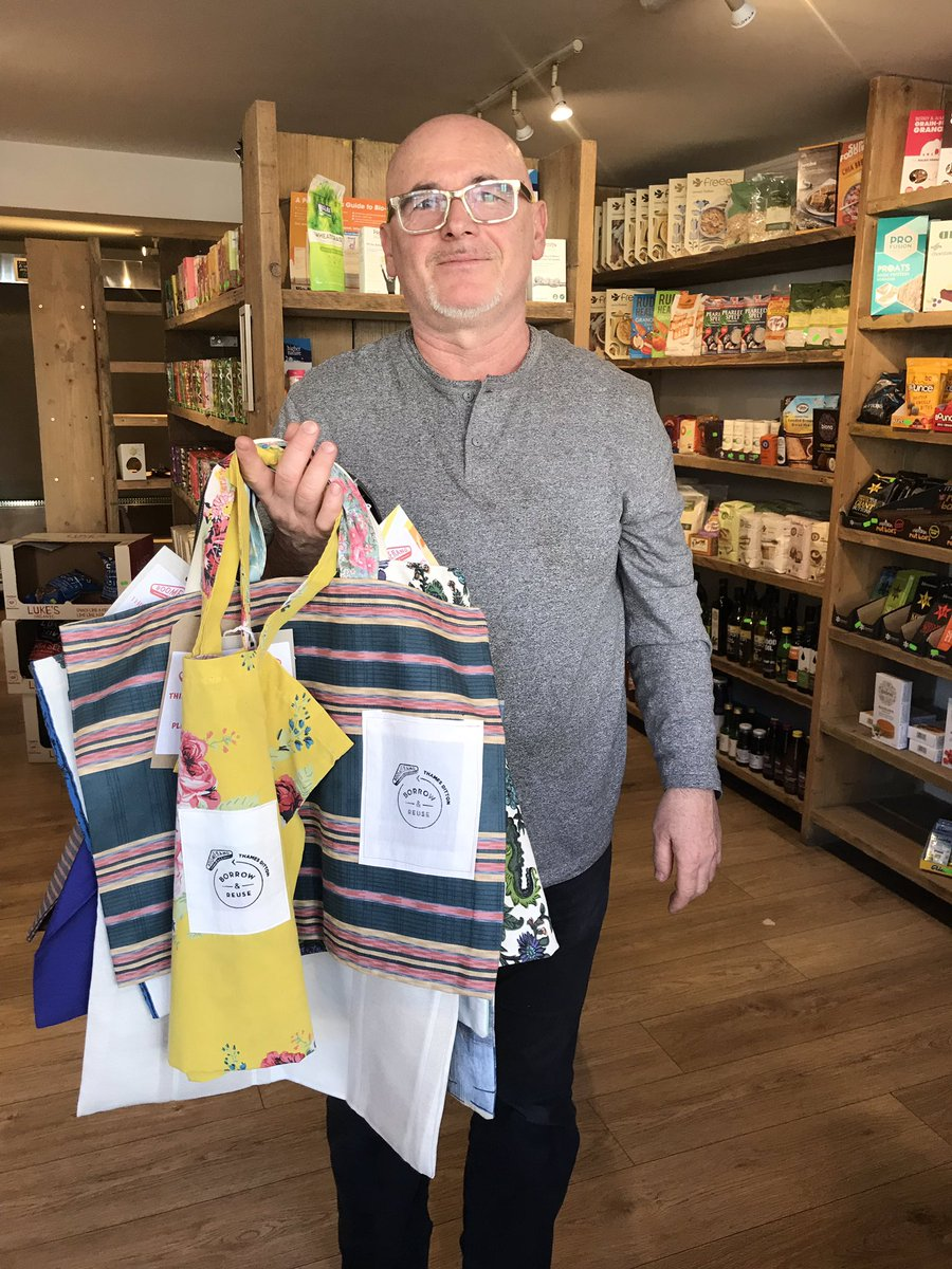 Boomerang Bags - Initiative In Thames Ditton - Come On Weybridge