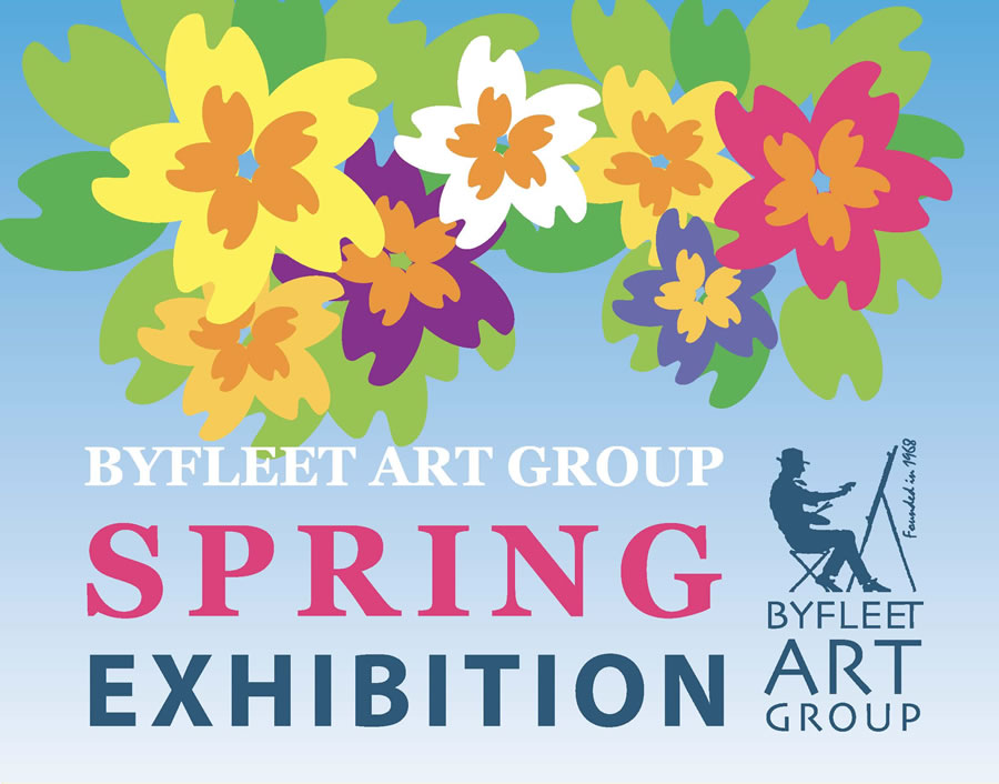 Byfleet Art Group Exhibition Spring Exhibition in West Byfleet at the Catholic Church Hall