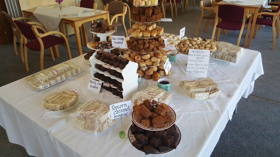 Cakes baked by Weybridge WI members