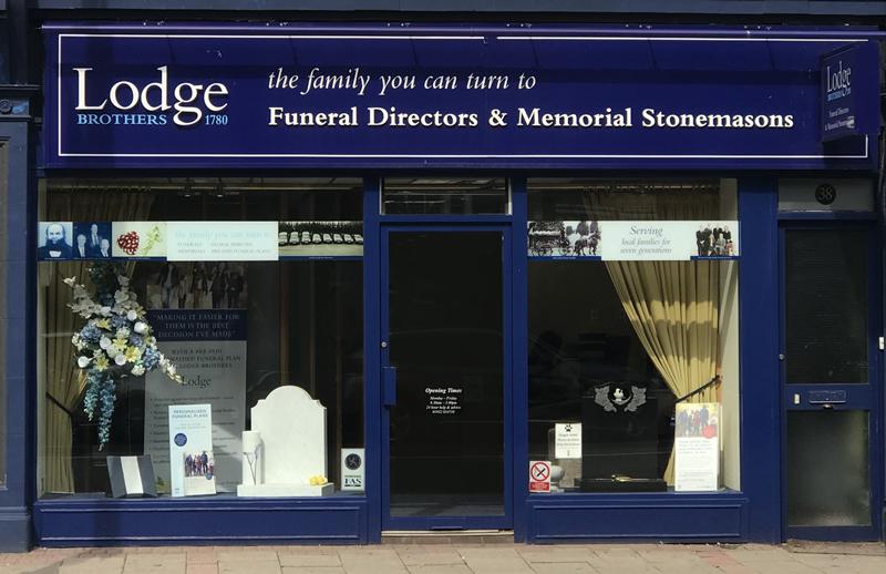 Lodge Brothers Funeral Directors Weybridge High Street Surrey - Job Opportunity
