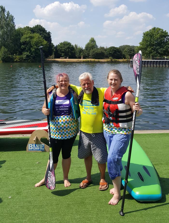 Weybridge Womens Institue Charity Fundraiser - 40 Sports Challenge - Kayaking