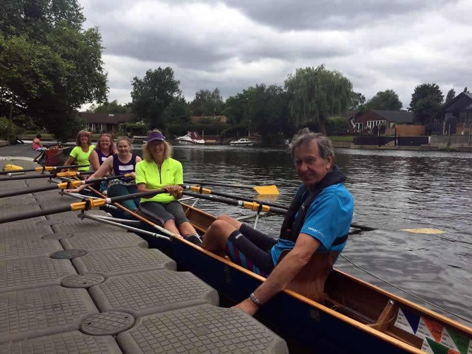 Weybridge Womens Institute - 40 Sports Challenge - Rowing