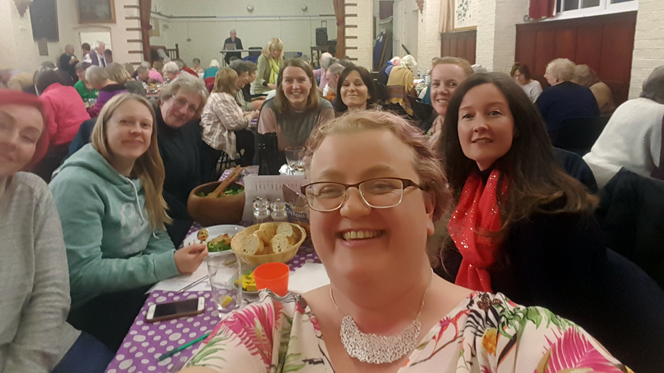 Weybridge WI Meal at Social Event
