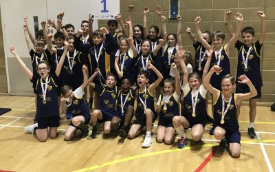 Cleves School are Sportshall Athletics Surrey County Champions 2019!