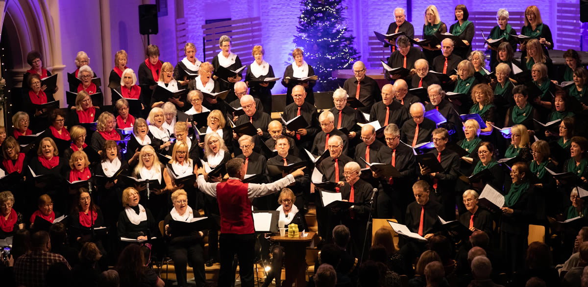 Elmbridge Choir in Woking Christmas concert - Next concert is Spring Concert in Walton-on-Thames