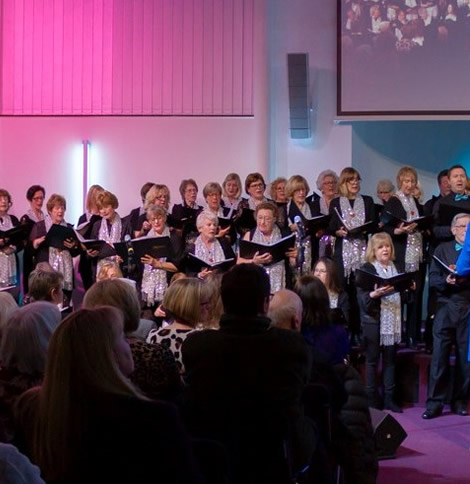 Elmbridge Choir in Walton-on-Thames concert for Mayor's Charity - Elmbridge Renstart