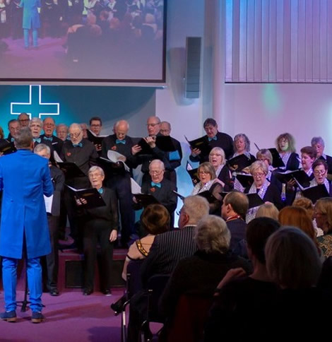 Elmbridge Mixed Voice Choir from Cobham, part of Surrey Music