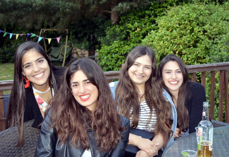 English Language Classes in Weybridge near London - WISE Summer School - 4 Girl Students