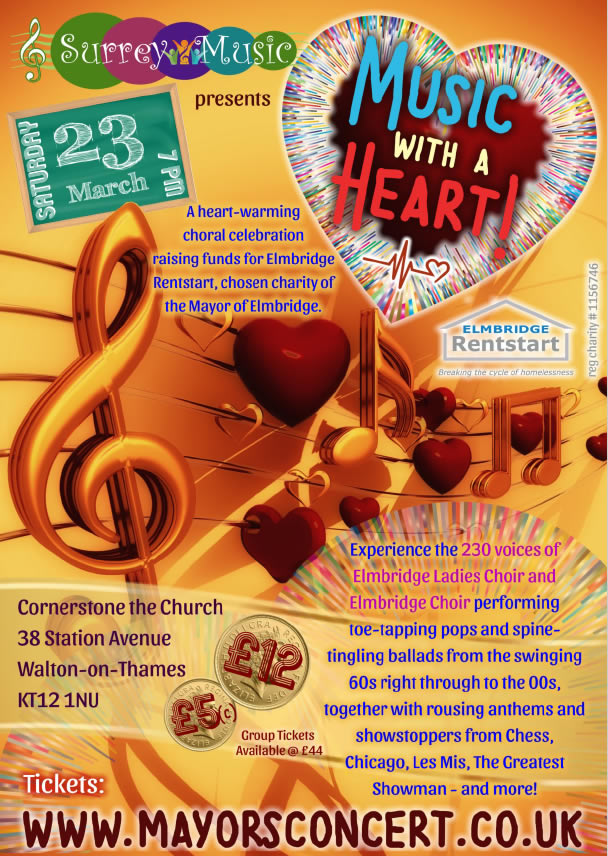 Mayors Charity Concert for Elmbridge Rentstart