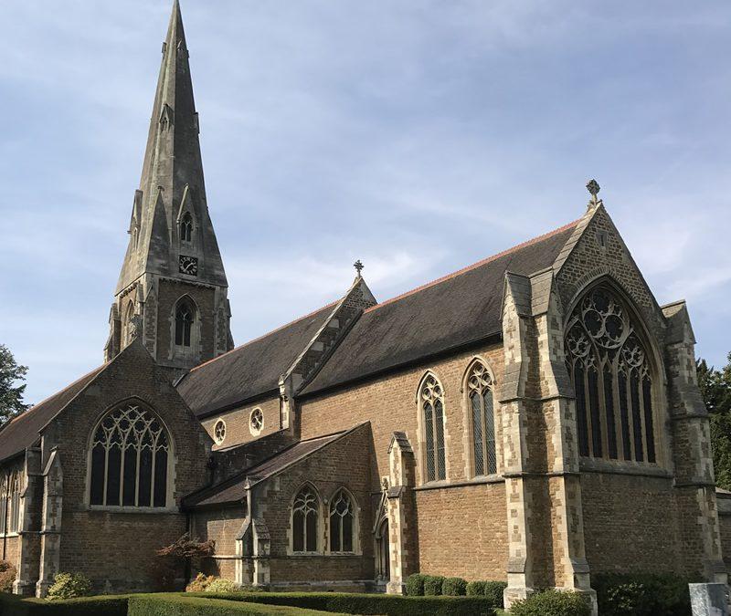 Guided Tours of St James' Church Weybridge