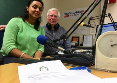 Weybridge In Bloom Interview - Graham Laycock with Charu Sood 1st March 2019