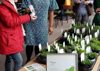 Wyevale Garden Centre based at Seven Hills Road supported the event by providing flower pots for the attendees