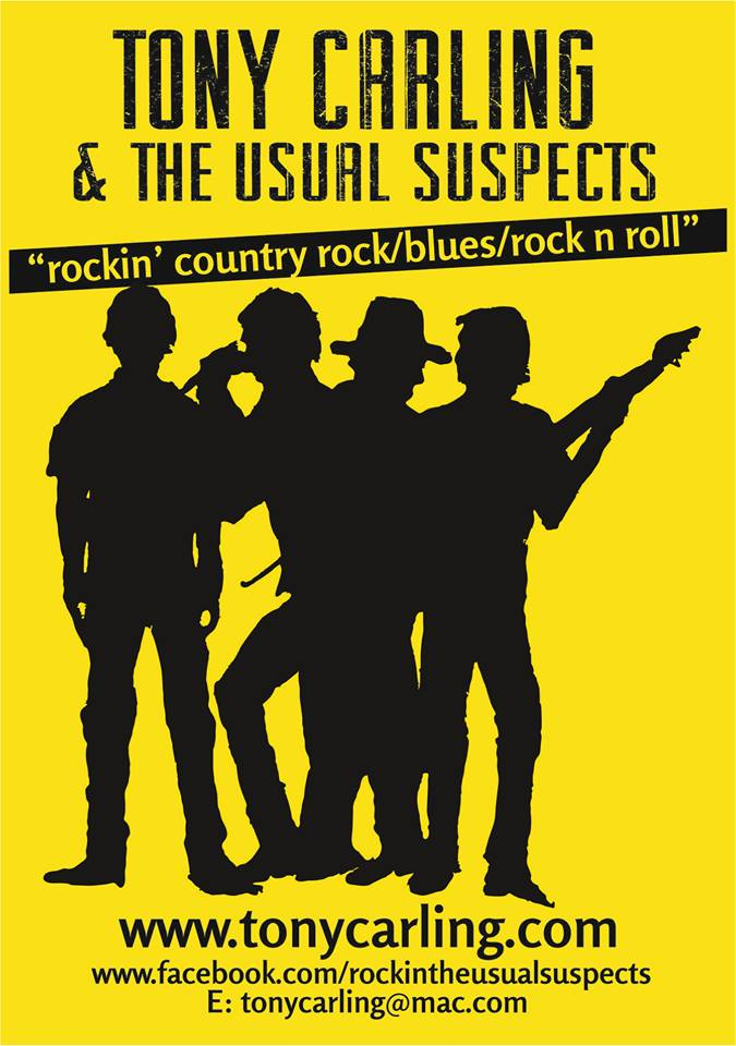 Tony Carling & The Usual Suspects Play in Weybridge - Music at St James Church