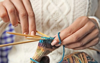 Knit and Knatter at Weybridge Library