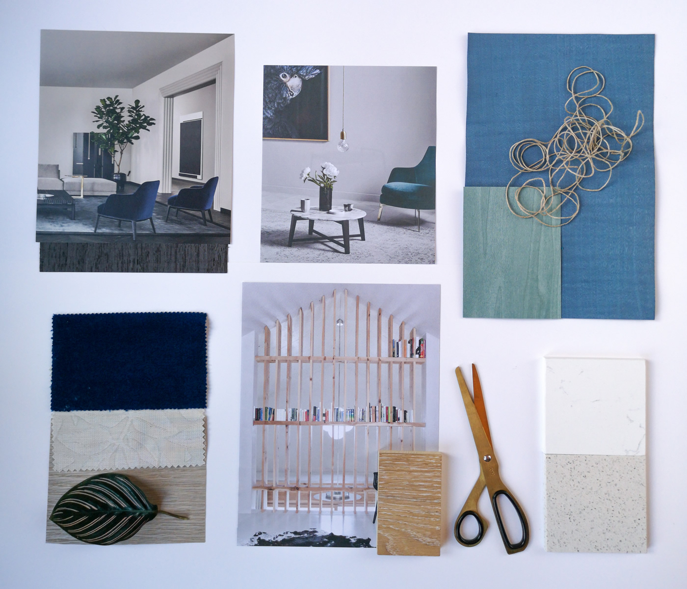 Mood Board Interior Design Workshop at Oatlands Park Hotel in Weybridge Surrey