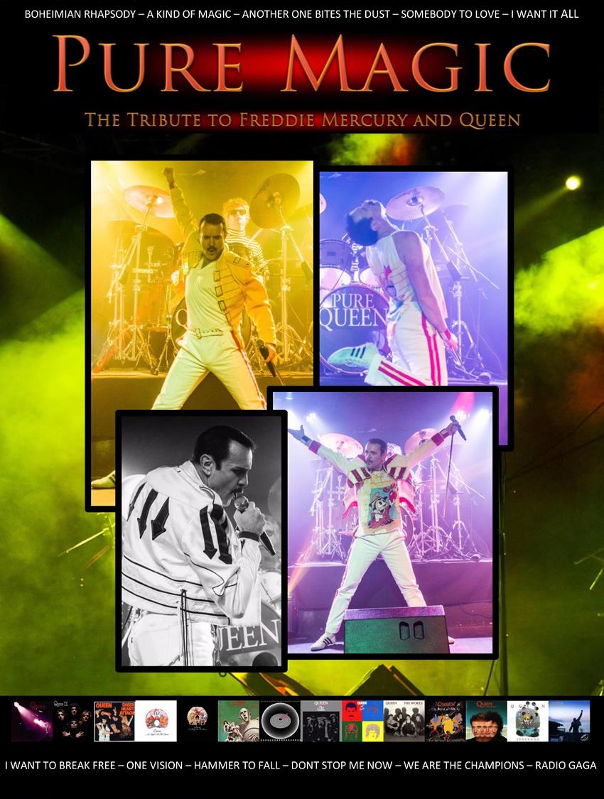 Pure Magic Freddie Mercury Tribute - Red Bar Weybridge Queens Road