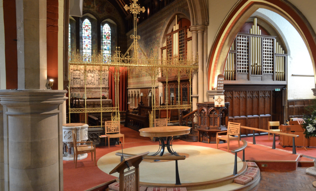 St Peters Church Hersham Interior Photo