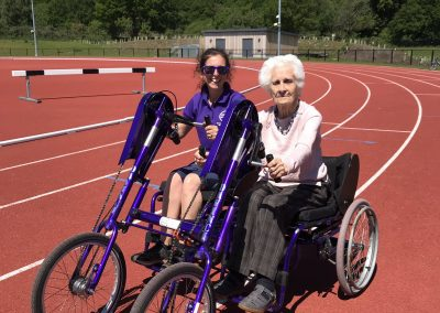 Wheels for All Dementia Cycling Event in Woking - Home Instead Organised 1
