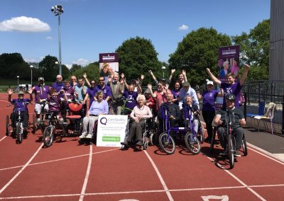 Wheels for All Dementia Cycling Event in Woking - Home Instead Organised 3