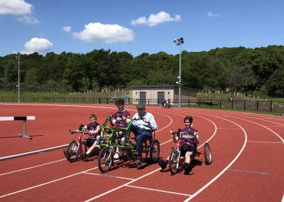 Wheels for All Dementia Cycling Event in Woking - Home Instead Organised 4