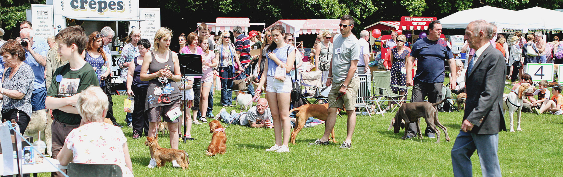 Come one, come all to our annual Barkin' Mad Dog Show!
