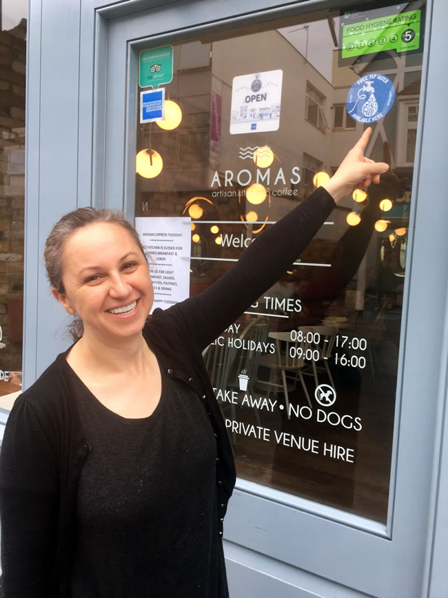 Aromas – Artisan Kitchen & Coffee Church Street Weybridge Surrey