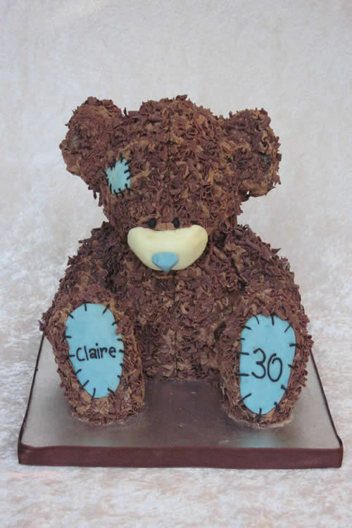 Bear Birthday Cake - Weybridge Surrey Cake Designer
