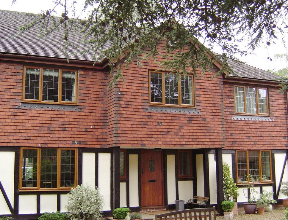 Byfleet House with Replacement Double Galzed Windows