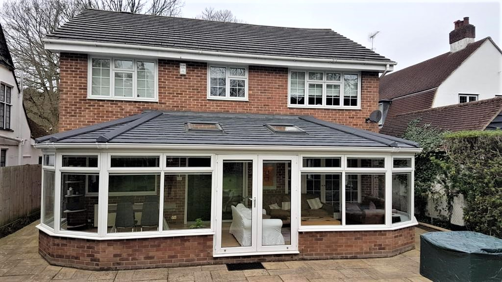 Conservatory with Insulated Roof - Weybridg and Woking Conservatories