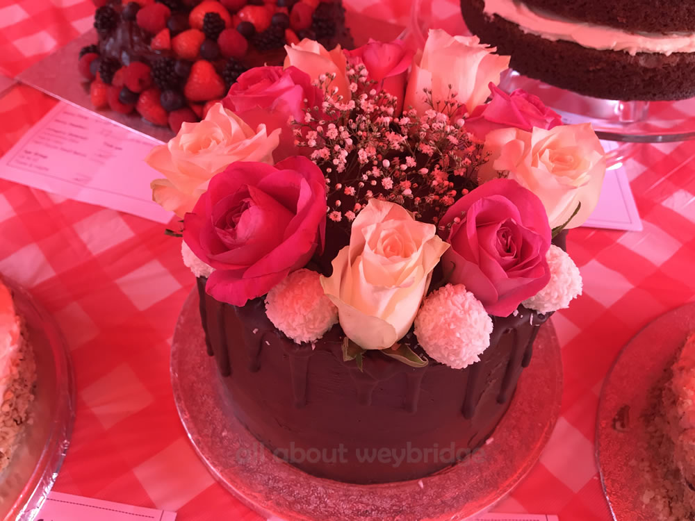 Family Bakes Chocolate Cake with Rose Decorations - Great Weybridge Cake-Off