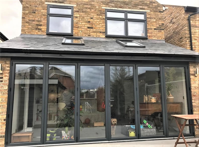 Bi-fold doors & conservatories installed in Weybridge Surrey - Sheerwater Glass Woking