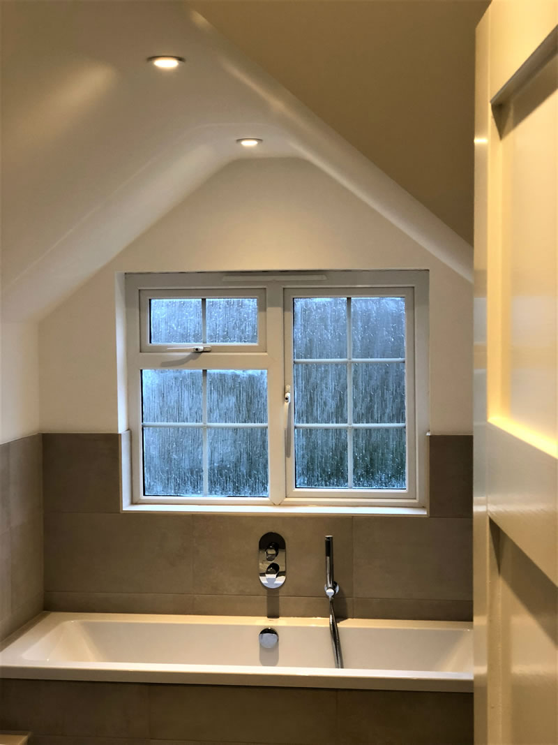 Replacement Double Glazed Window - Hersham Surrey Bathroom