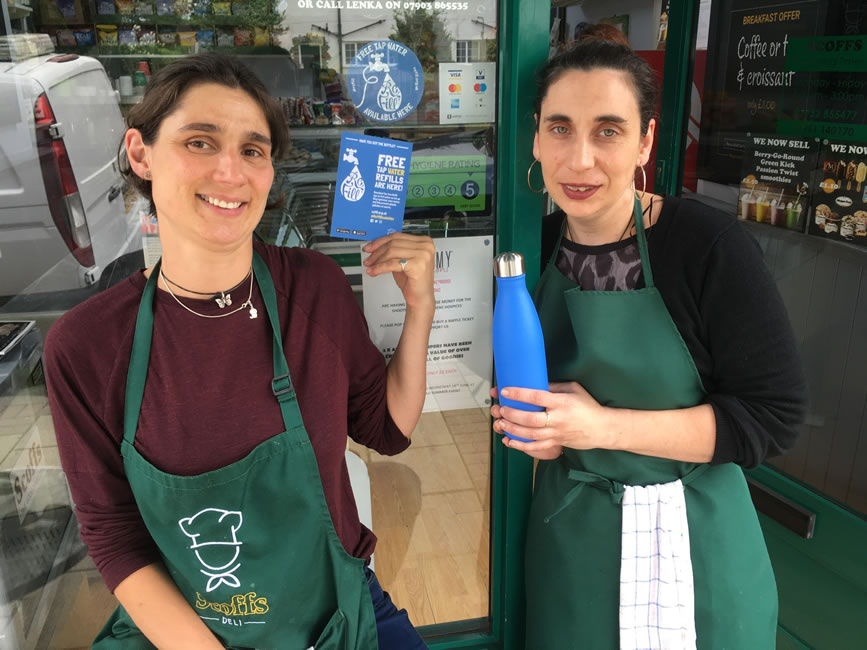 Scoffs Deli Queens Road - Weybridge Refill