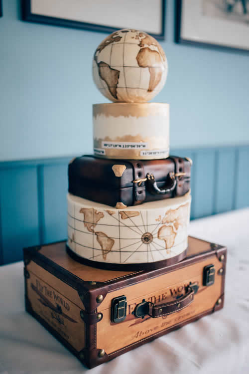 Weybridge Wedding Cake Maker - Suitcases