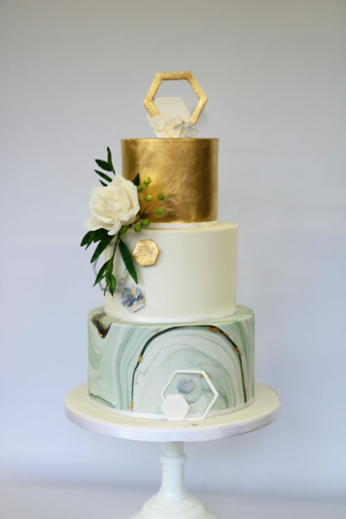Wedding Cakes by Iced Innovations Weybridge Surrey
