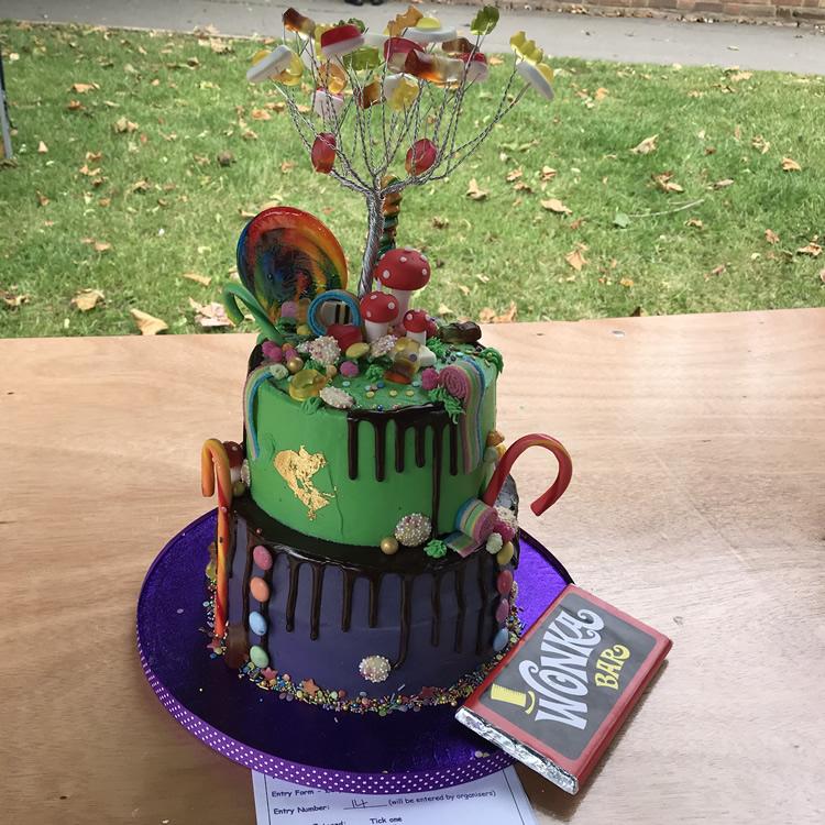 Willy Wonka Hat - Cake