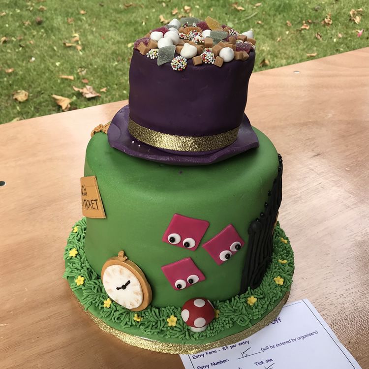 Willy Wonka Hat - Charlie and Chocolate factory Cake