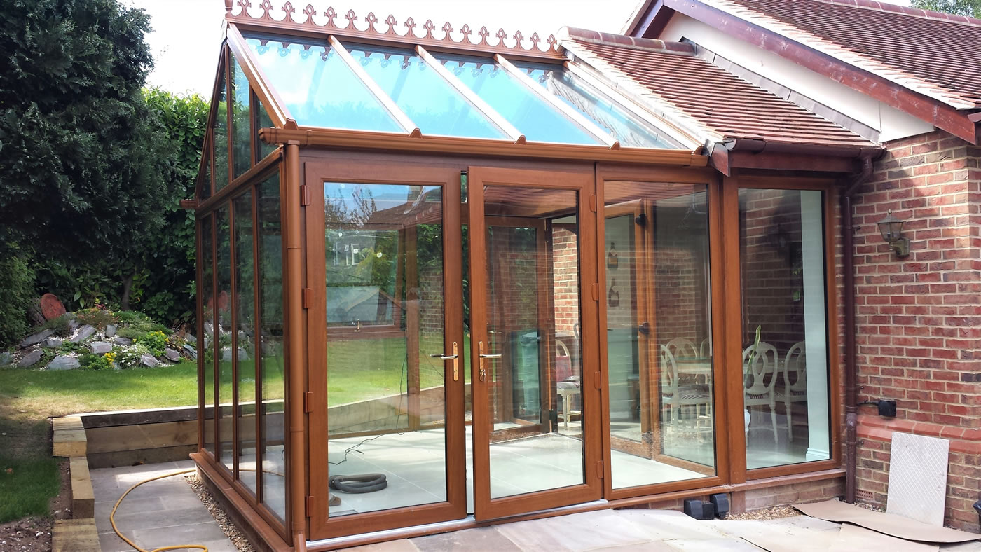 Wooden Conservatory Oatlands Weybridge Surrey